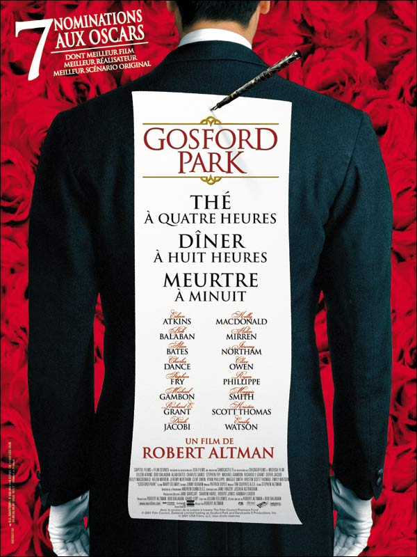 Meurtre a Gosford Park [DVDRIP - FRENCH] [FS][US]