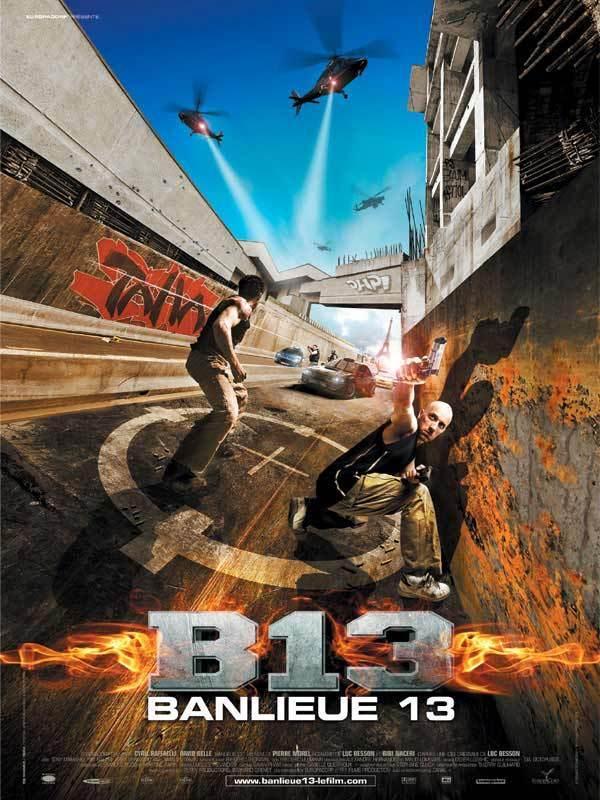 Affiche du film Banlieue 13