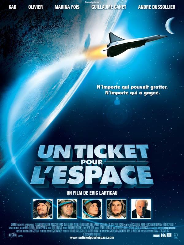 Un ticket pour l'espace streaming