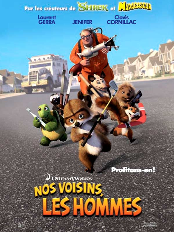 Nos Voisins Les Hommes (2005) [TRUEFRENCH] [DVDRip] [XviD]  (AC3)