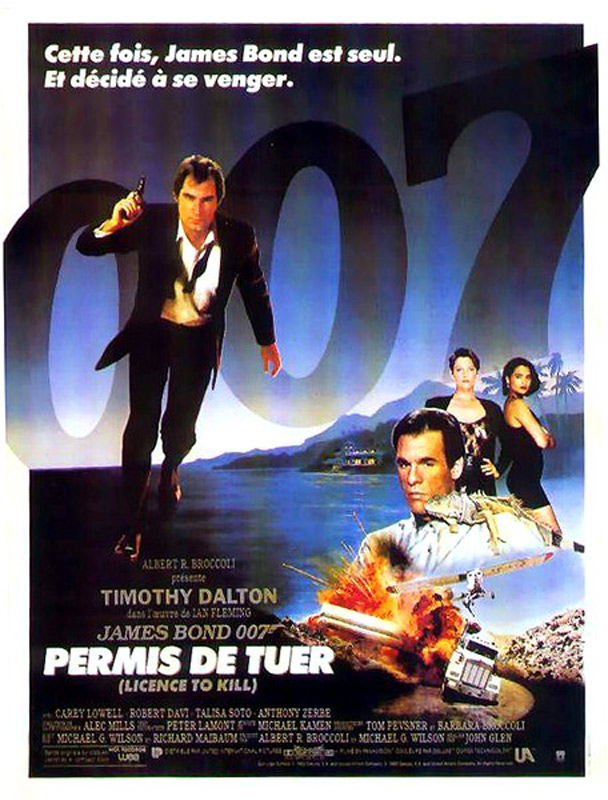 James Bond - Permis de tuer