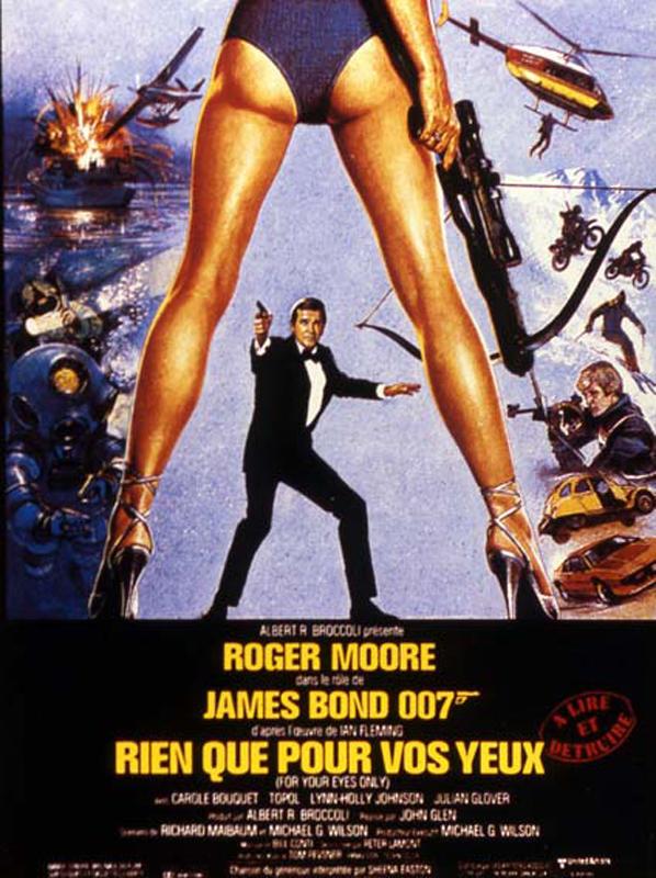 James Bond - Rien que pour vos yeux