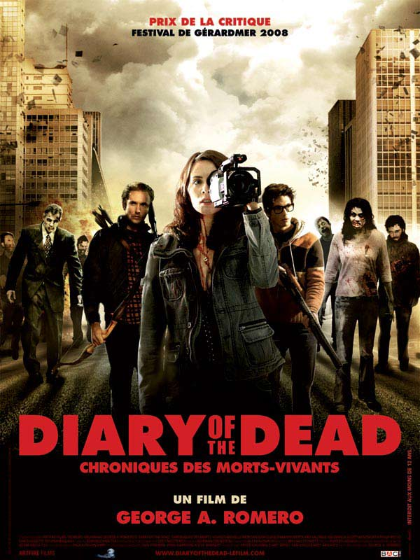 Affiche du film Diary of the Dead - Chronique des morts vivants
