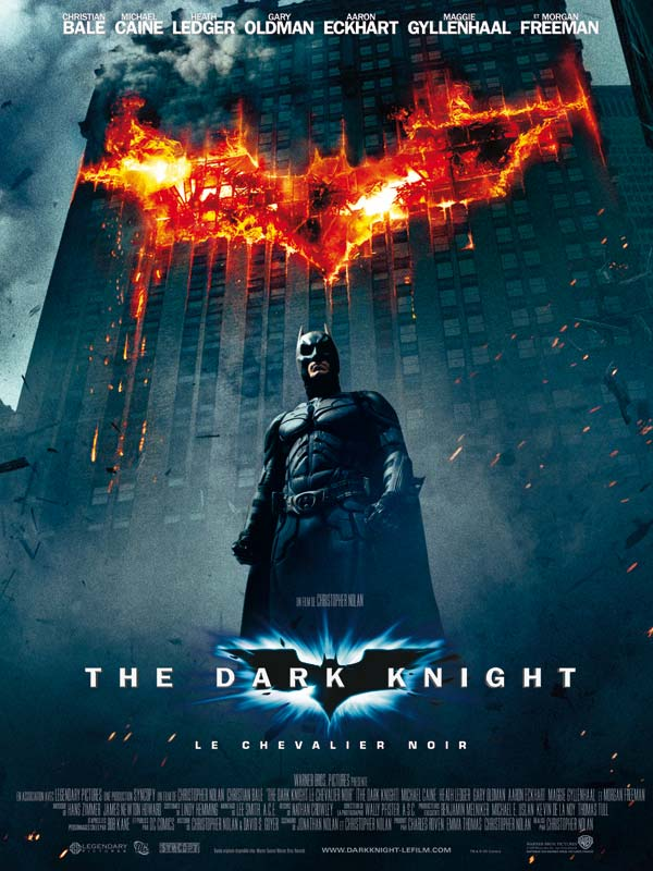 bande originale, musiques de The Dark Knight Le Chevalier Noir