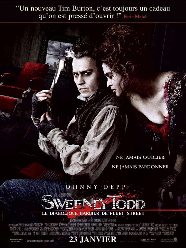[MULTI] Sweeney Todd, le diabolique barbier de Fleet Street [MULTI] [BLURAY 1080p]