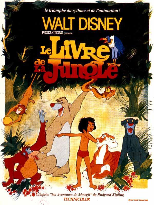bande originale, musiques de Le Livre de la jungle