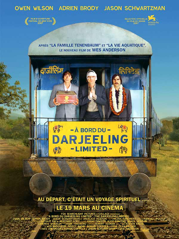 A bord du Darjeeling Limited [DVDRIP - FRENCH] [MULTI]