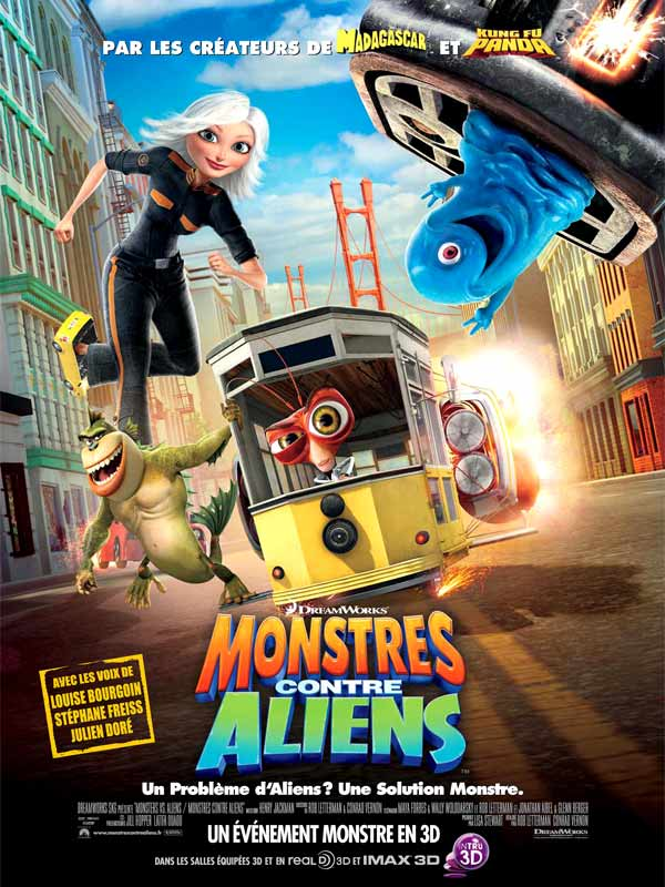 Monstres contre Aliens [BDRIP|TRUEFRENCH] [FS]