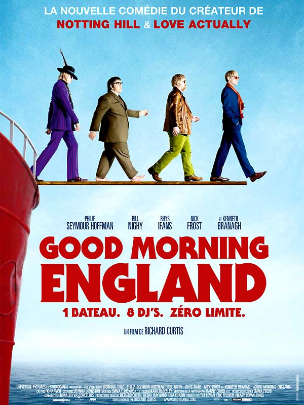 bande originale, musiques de Good Morning England
