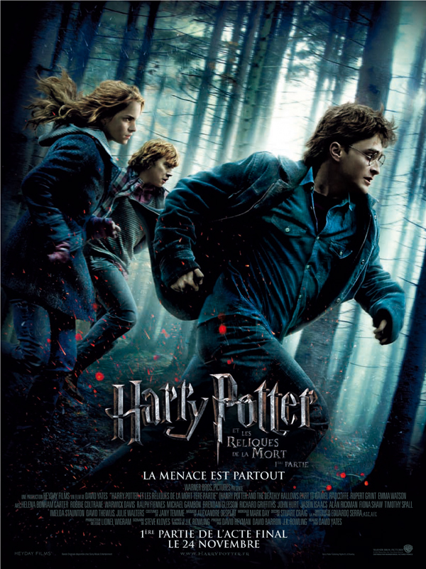 Harry Potter and the Deathly Hallows - Part 1 [DVDRIP] 1CD [VOSTFR] [FS]
