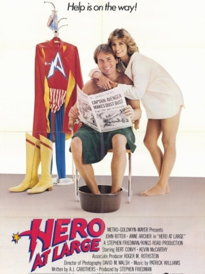 Captain Avenger (1980) affiche