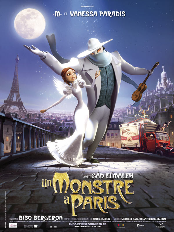 Un monstre a Paris streaming