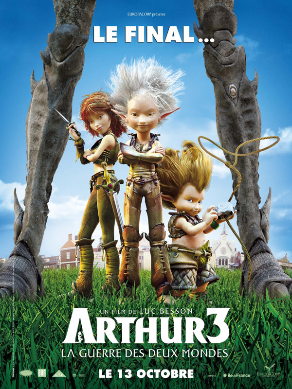Artur i Minimki 3 : Dwa Światy / Arthur 3 : The War of the Two Worlds (2010) MD Dubbing PL R5 XviD-FiRMA [2Serwery][2Linki]