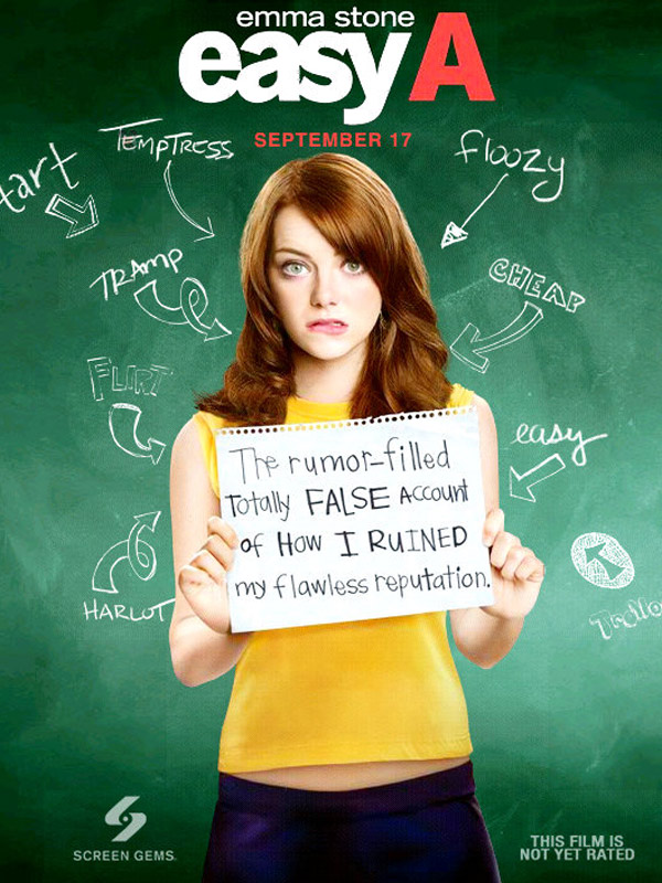 Easy A BluRay 720p 800 MB