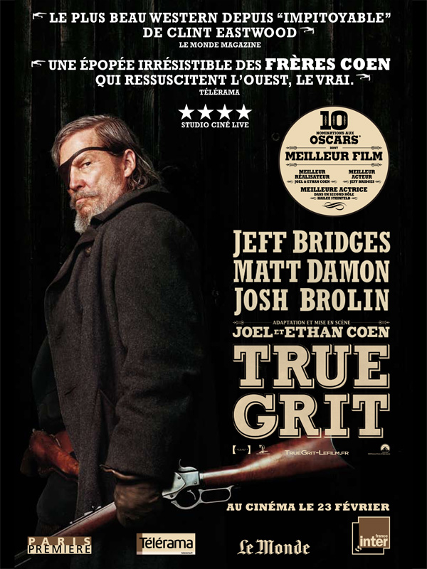 True Grit 2010 FRENCH BDRIP REPACK [1CD] (exclue) [FS][US]