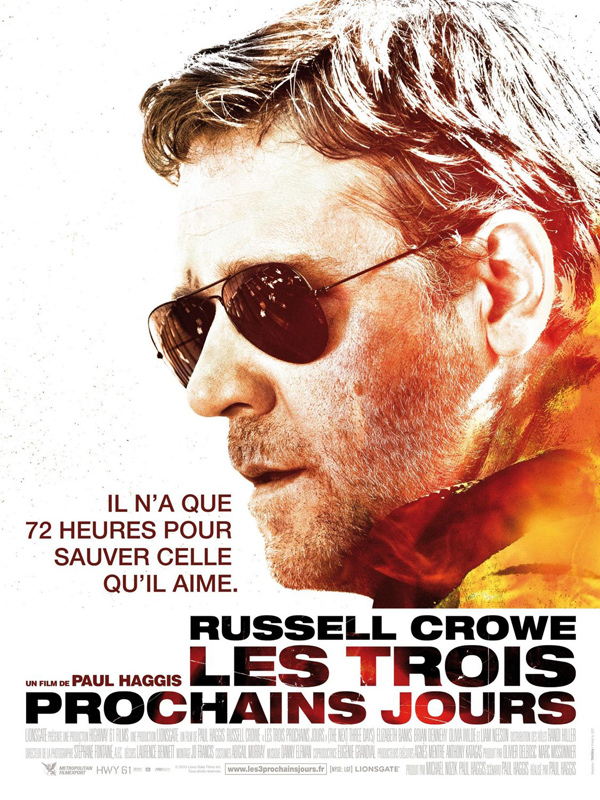 Les Trois prochains jours ( The Next Three Days) [DVDRIP - FRENCH][UD]