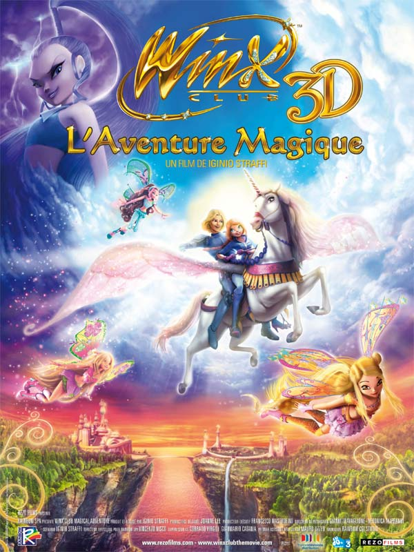 Winx Club, l'aventure magique 2011 [DVDRIP | FRENCH] [TB]