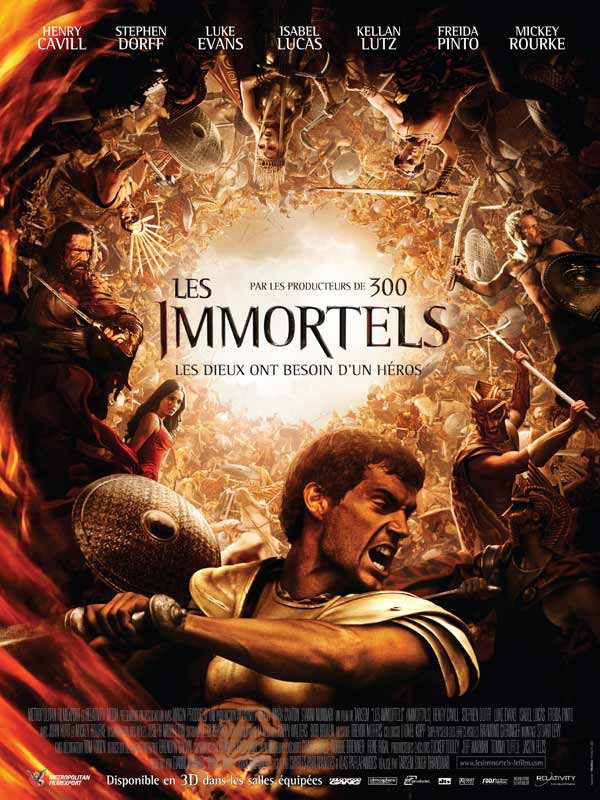 Les Immortels [R5] [VO] 2CD - AC3 [FS]  [US](Exclue)