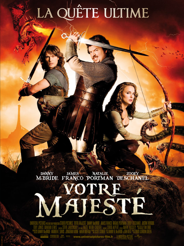 Votre majesté (Your Highness) (2011) [FRENCH] [BRRip] (AC3)