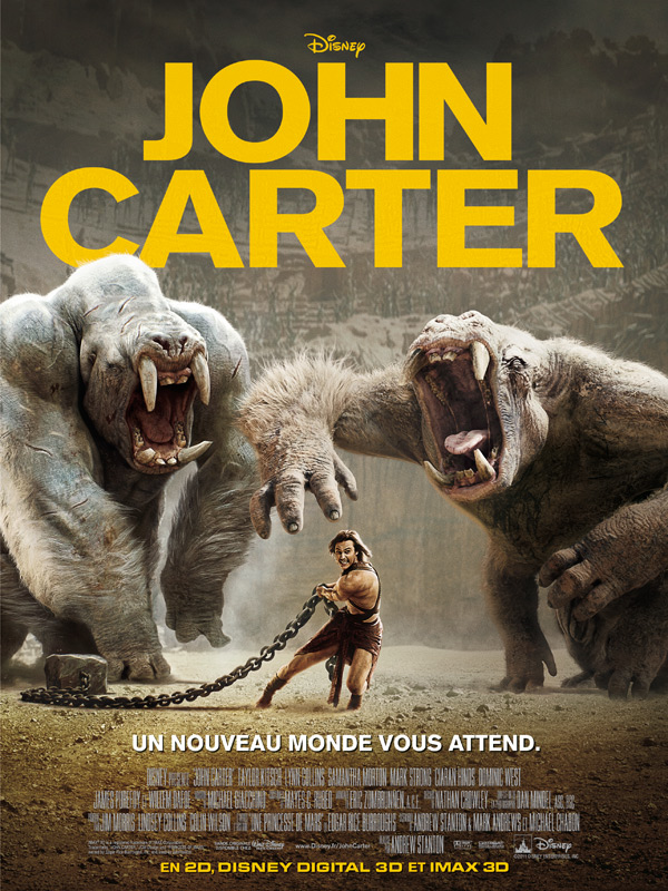 John Carter streaming