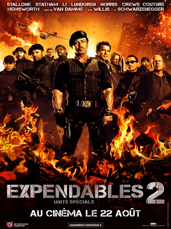 Expendables 2: unite speciale streaming