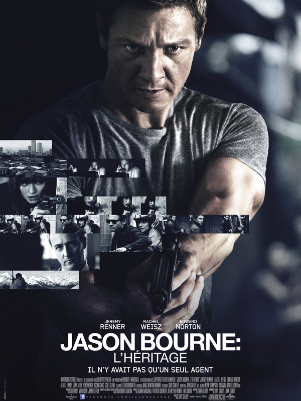 Jason Bourne : l'heritage streaming
