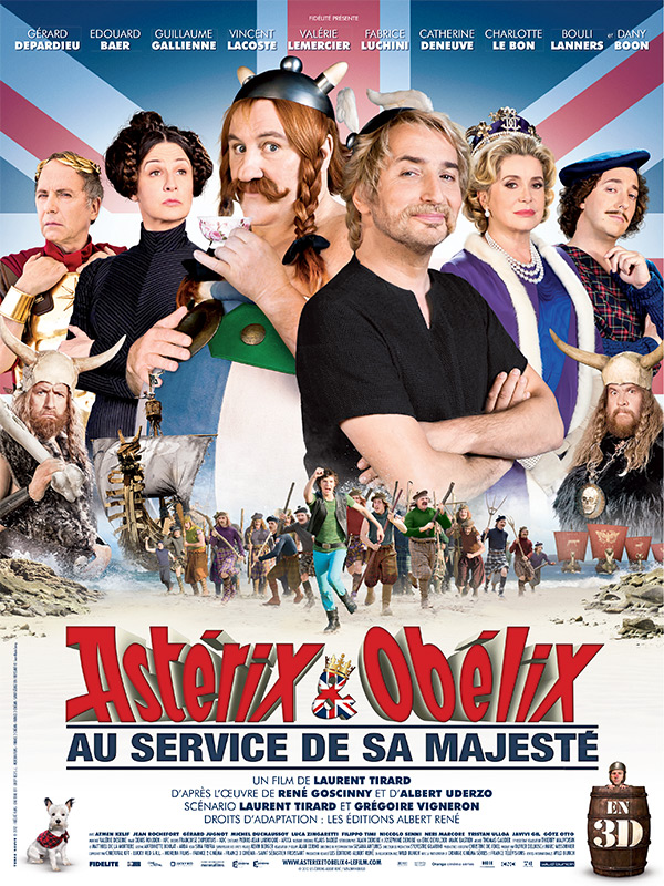 Regarder Astrix et Oblix : au service de Sa Majest en streaming