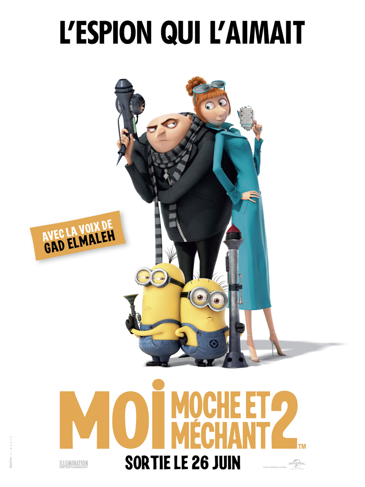 Moi, moche et méchant 2 - EXTRAS (Bonus du film)