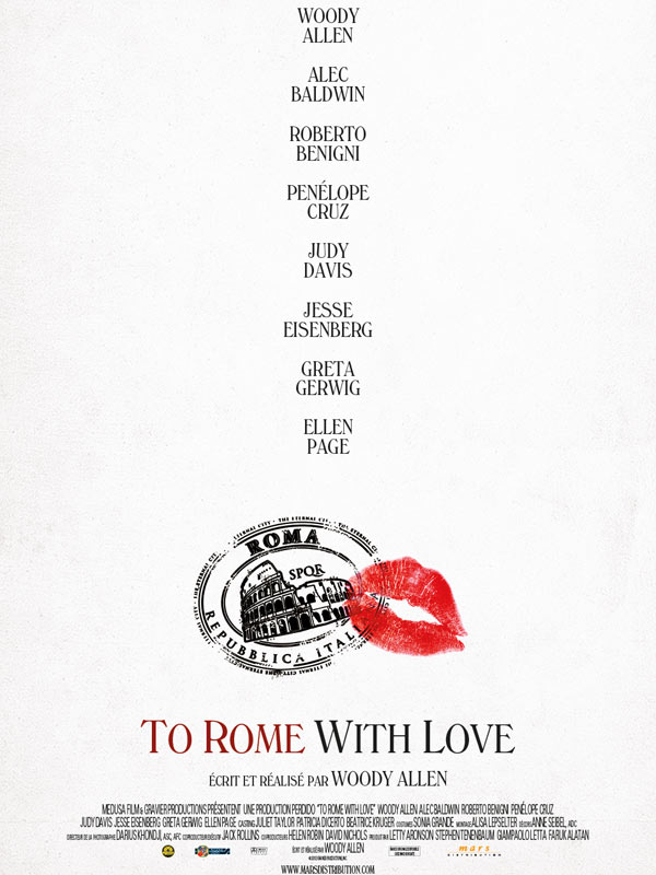 To Rome with Love [DVD-R]