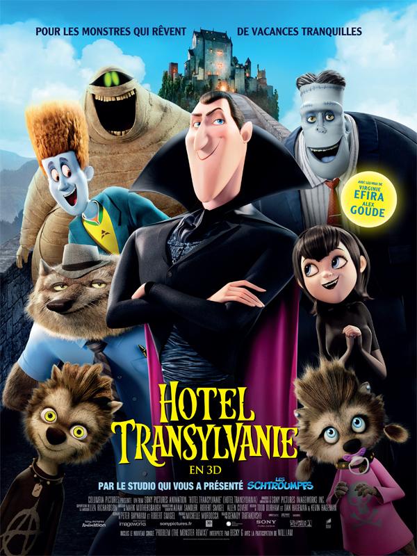 Horaires séances du film Hôtel Transylvanie à cournon d'auvergne