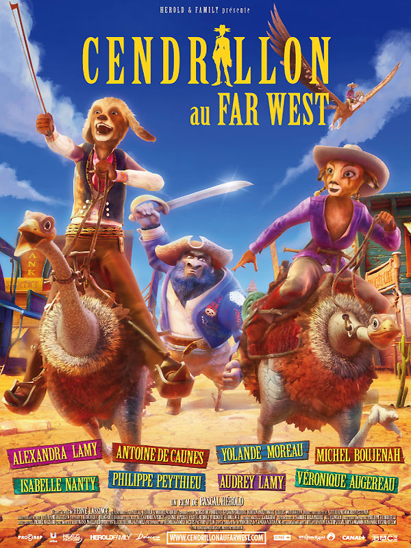 [MULTi] Cendrillon Au Far West [DVDRiP][FR]