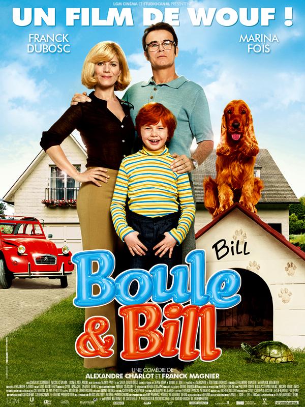 Horaires séances du film Boule et Bill à cournon d'auvergne