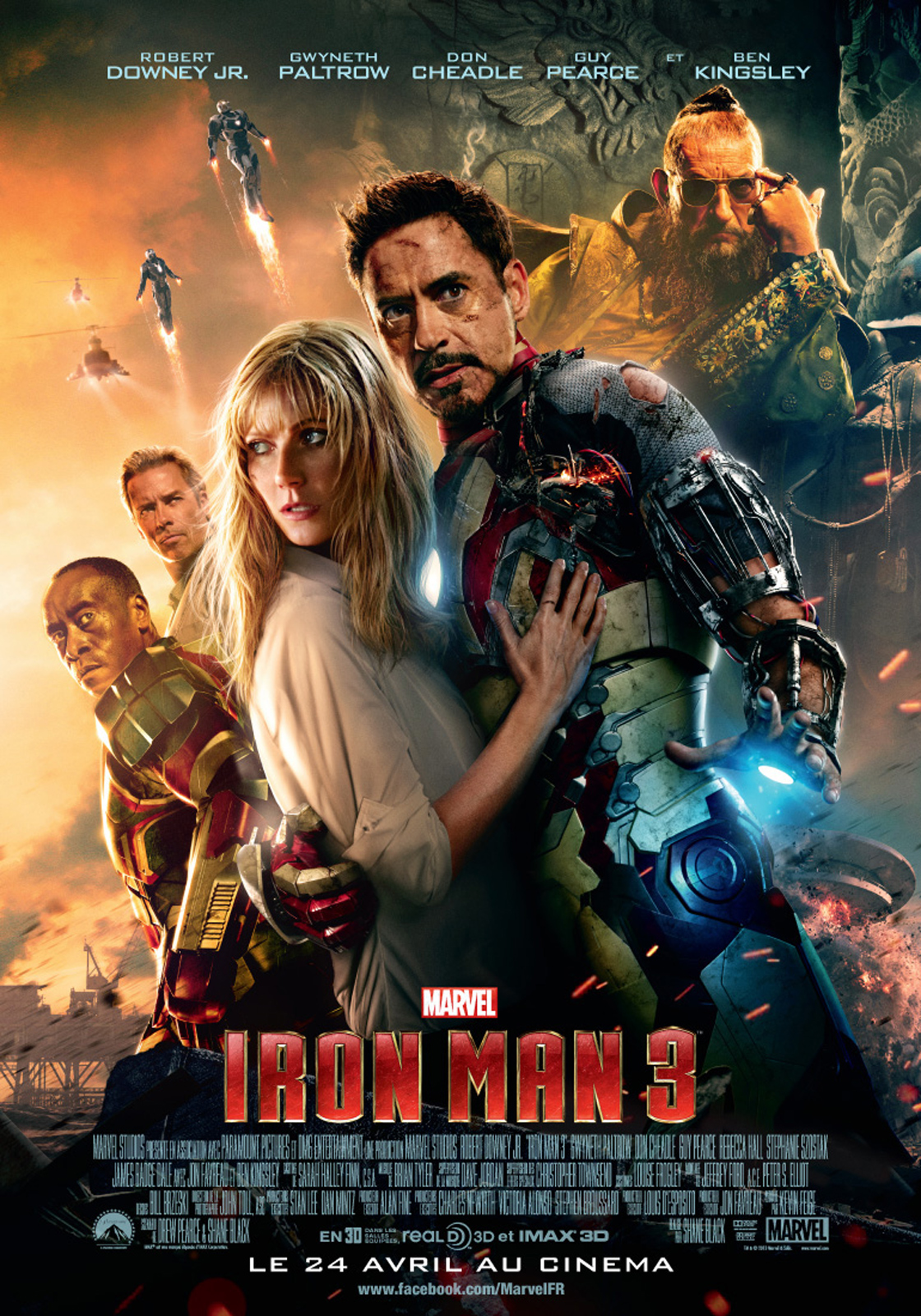 Tlcharger Iron Man 3 [R5] DVDRIP gratuit