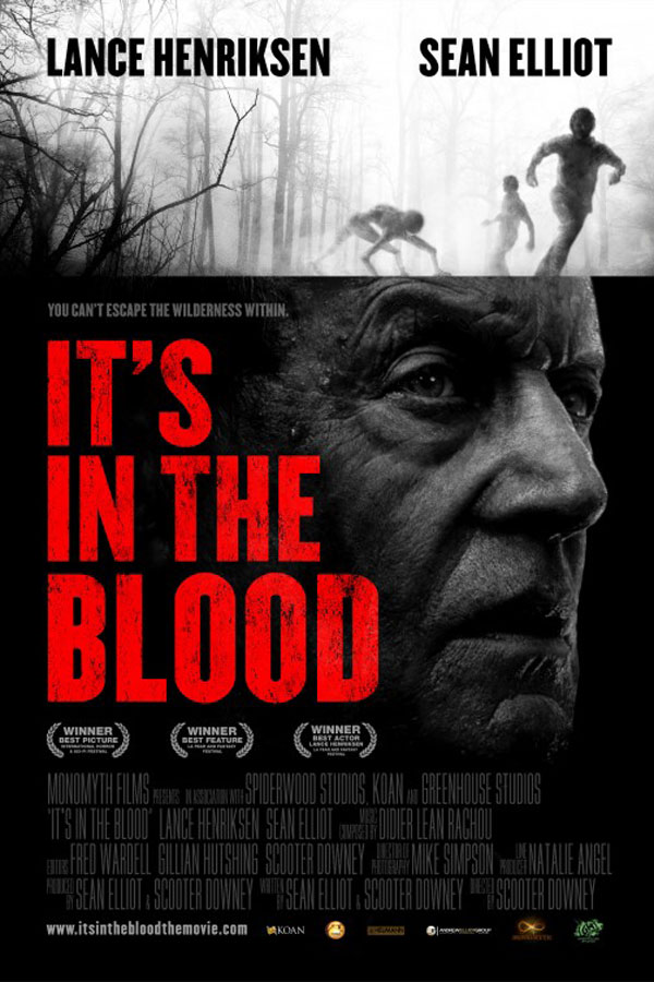 Affiche It's in the blood