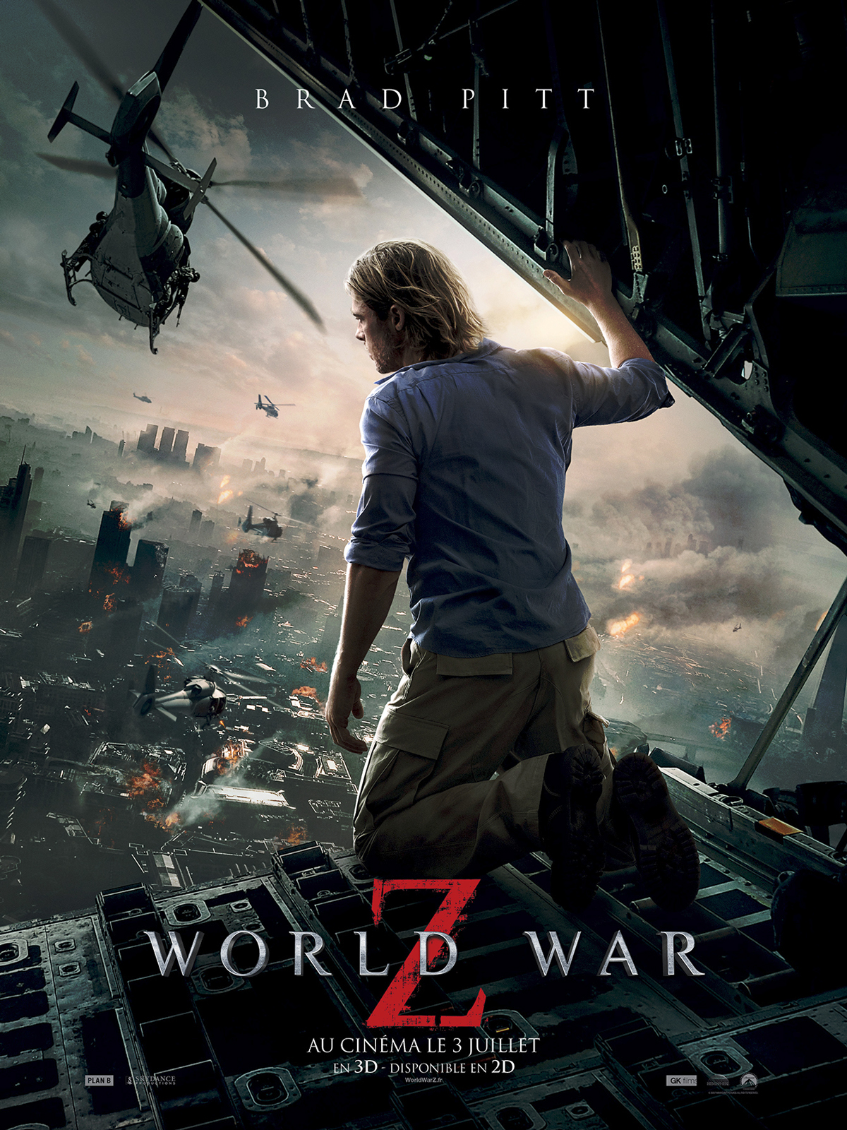 World War Z - EXTRAS (Bonus du film)