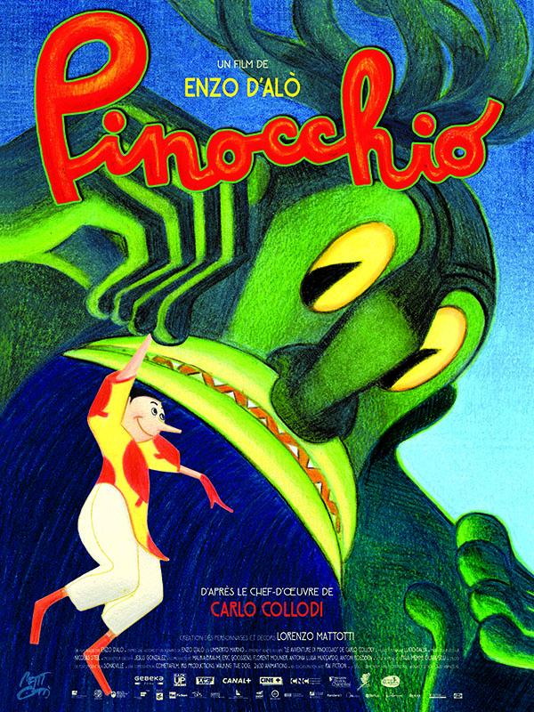 Horaires séances du film Pinocchio à cournon d'auvergne