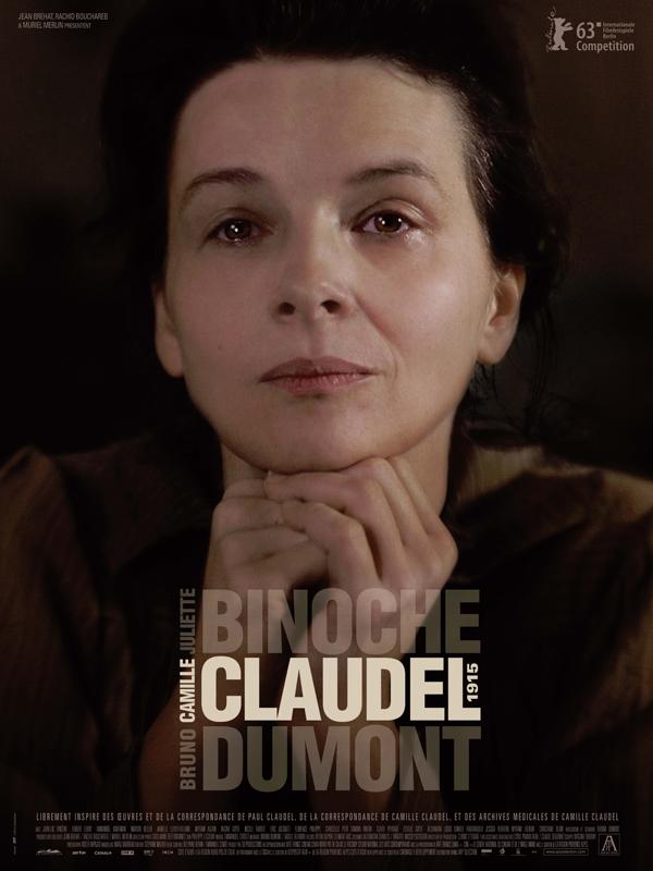 Horaires séances du film Camille Claudel 1915 à cournon d'auvergne