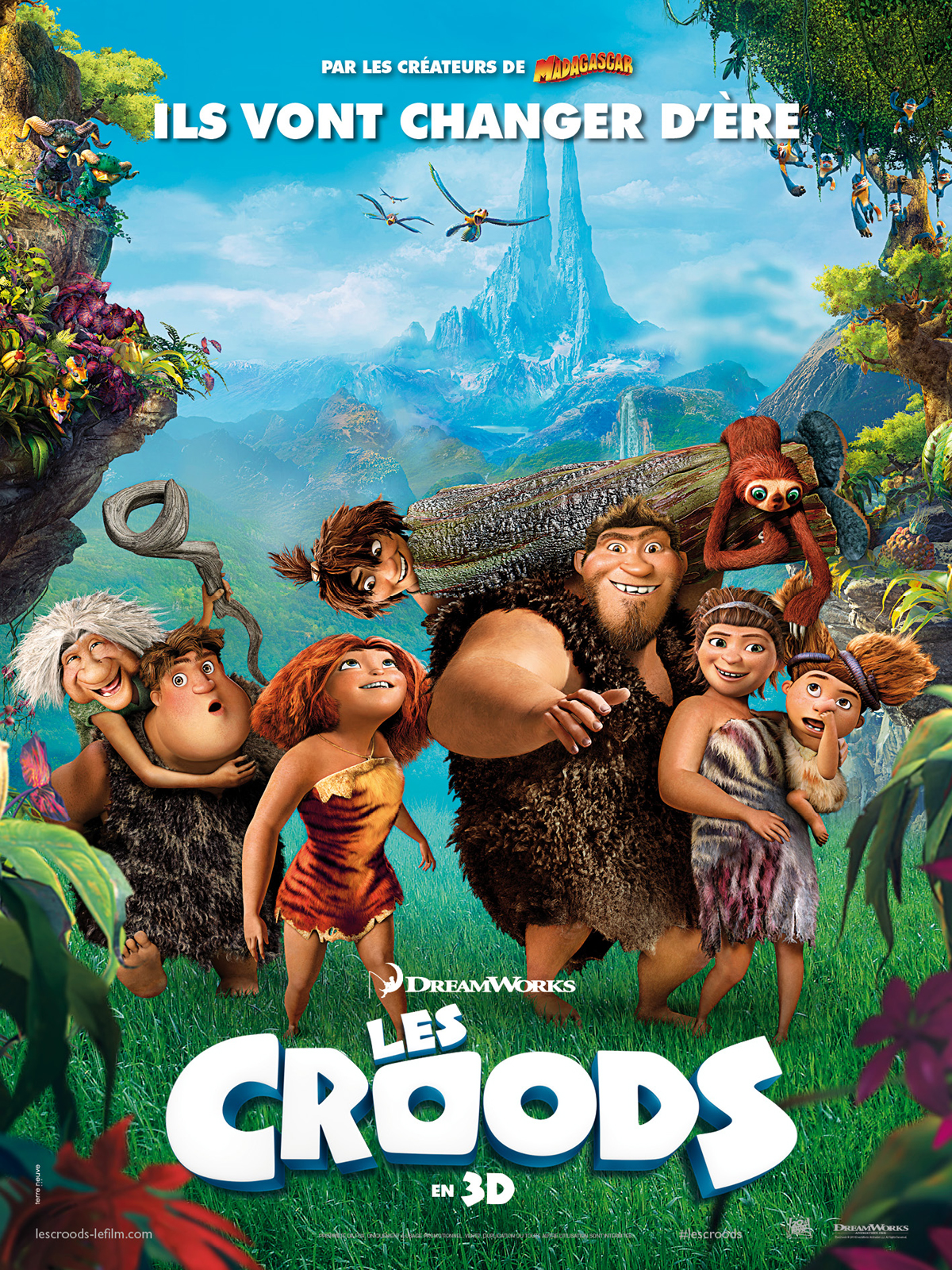 Les Croods en Streaming