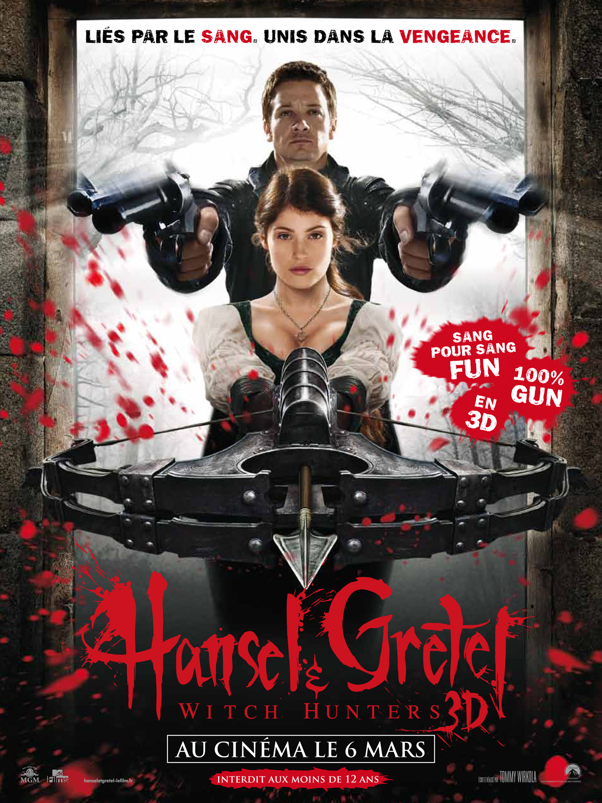 Hansel & Gretel : Witch Hunters ddl