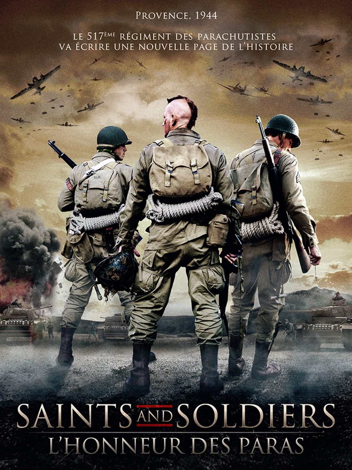 Saints and Soldiers : L'honneur des Paras | Dvdrip | TRUEFRENCH  | 1Fichier Uptobox