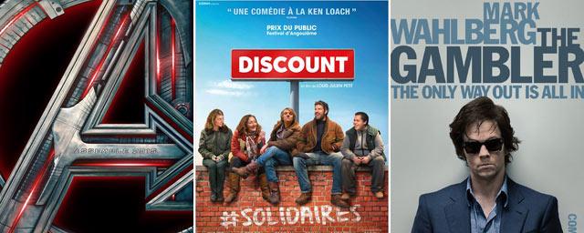 Avengers, Discount, The Gambler... Les bandes-annonces ciné à ne pas rater !