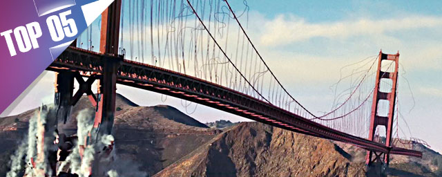 5 moments difficiles pour le Golden Gate de San Francisco [VIDEO]