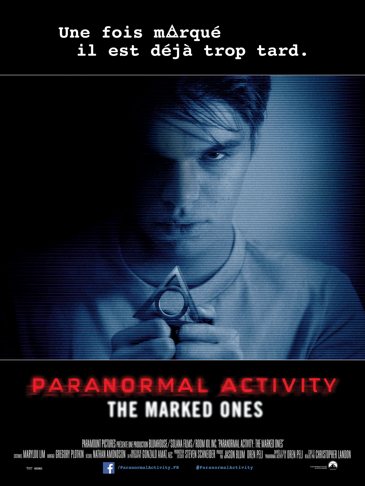 Paranormal Activity: The Marked Ones dvdrip
