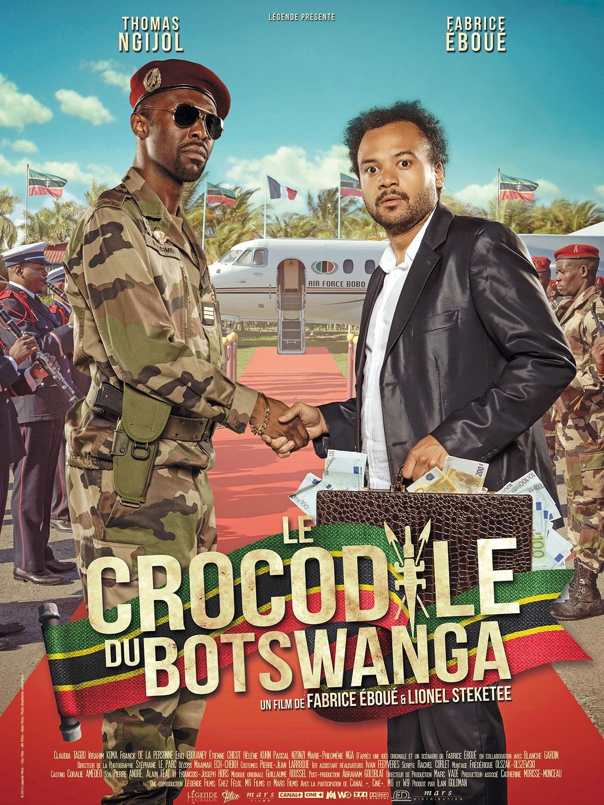 Le Crocodile du Botswanga DVDRIP