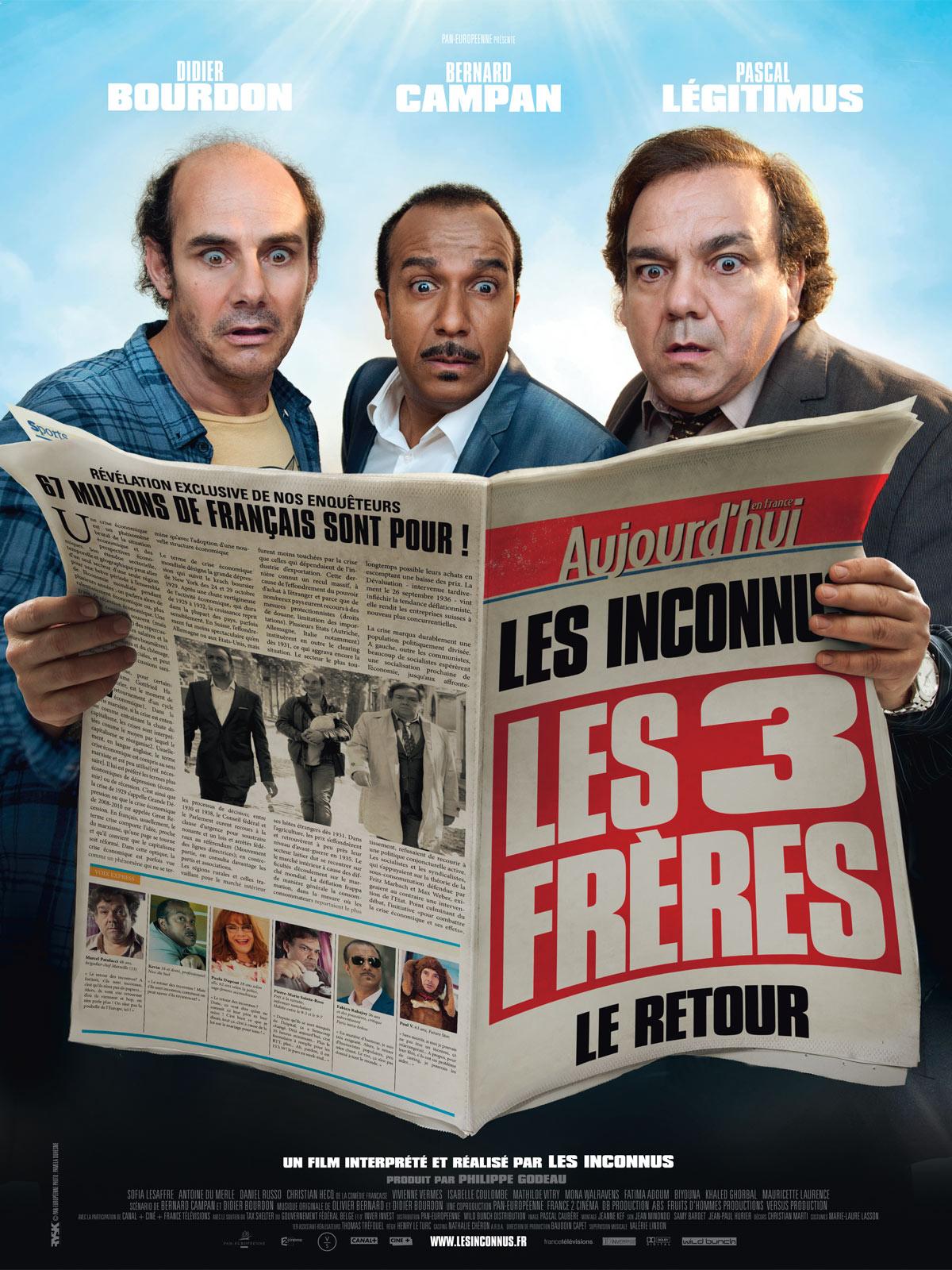 Les Trois frères, le retour DVDrip uptobox