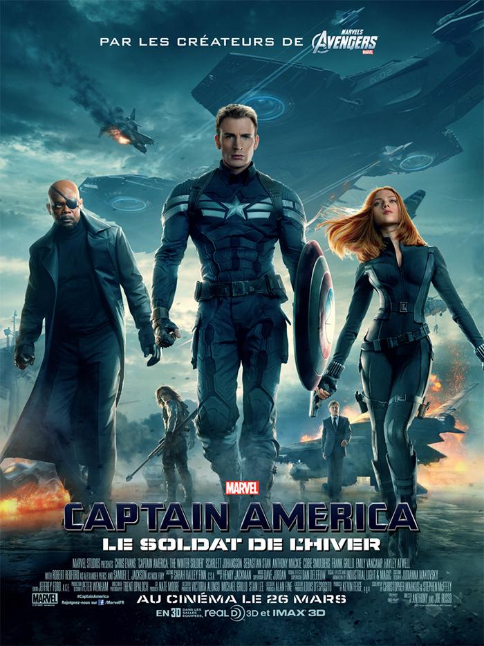 Captain America, le soldat de l'hiver DVDrip uptobox
