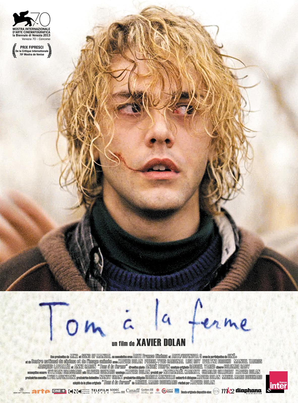 Tom à la ferme affiche
