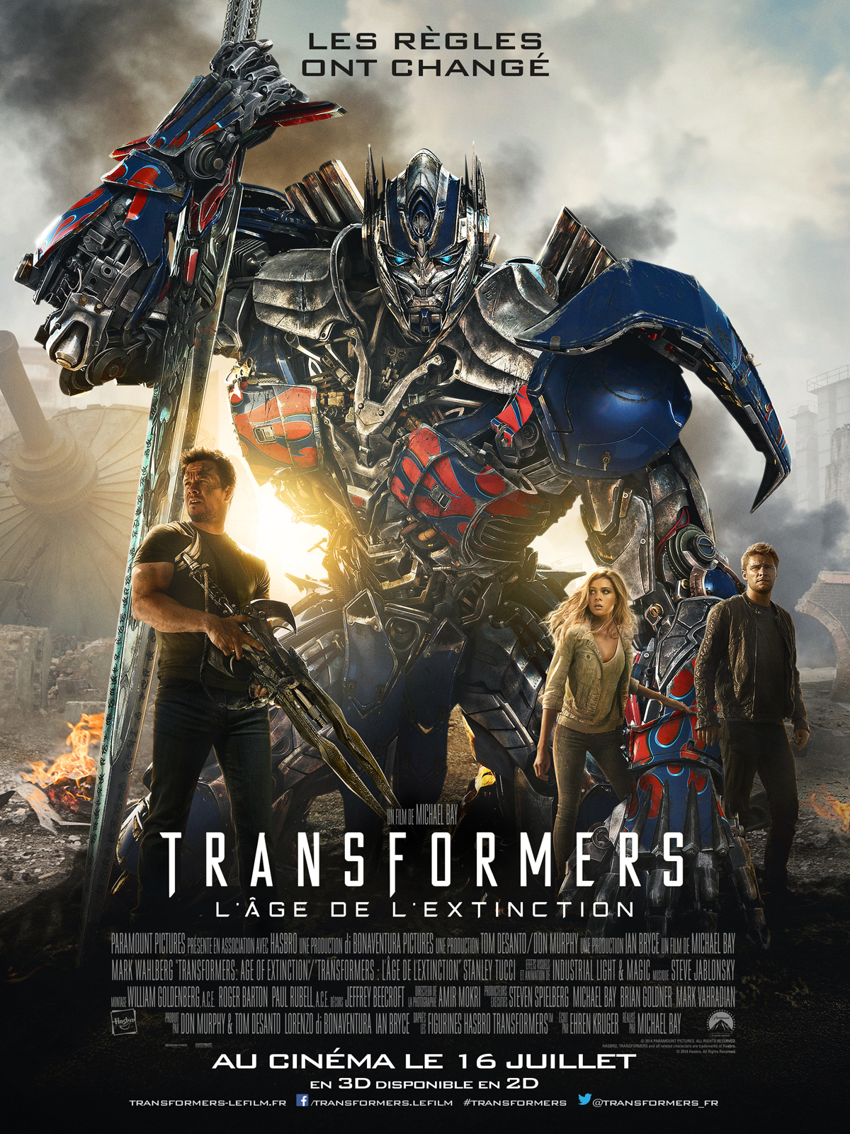 TELECHARGER Transformers : l'âge de l'extinction FRENCH BDRIP GRATUITEMENT