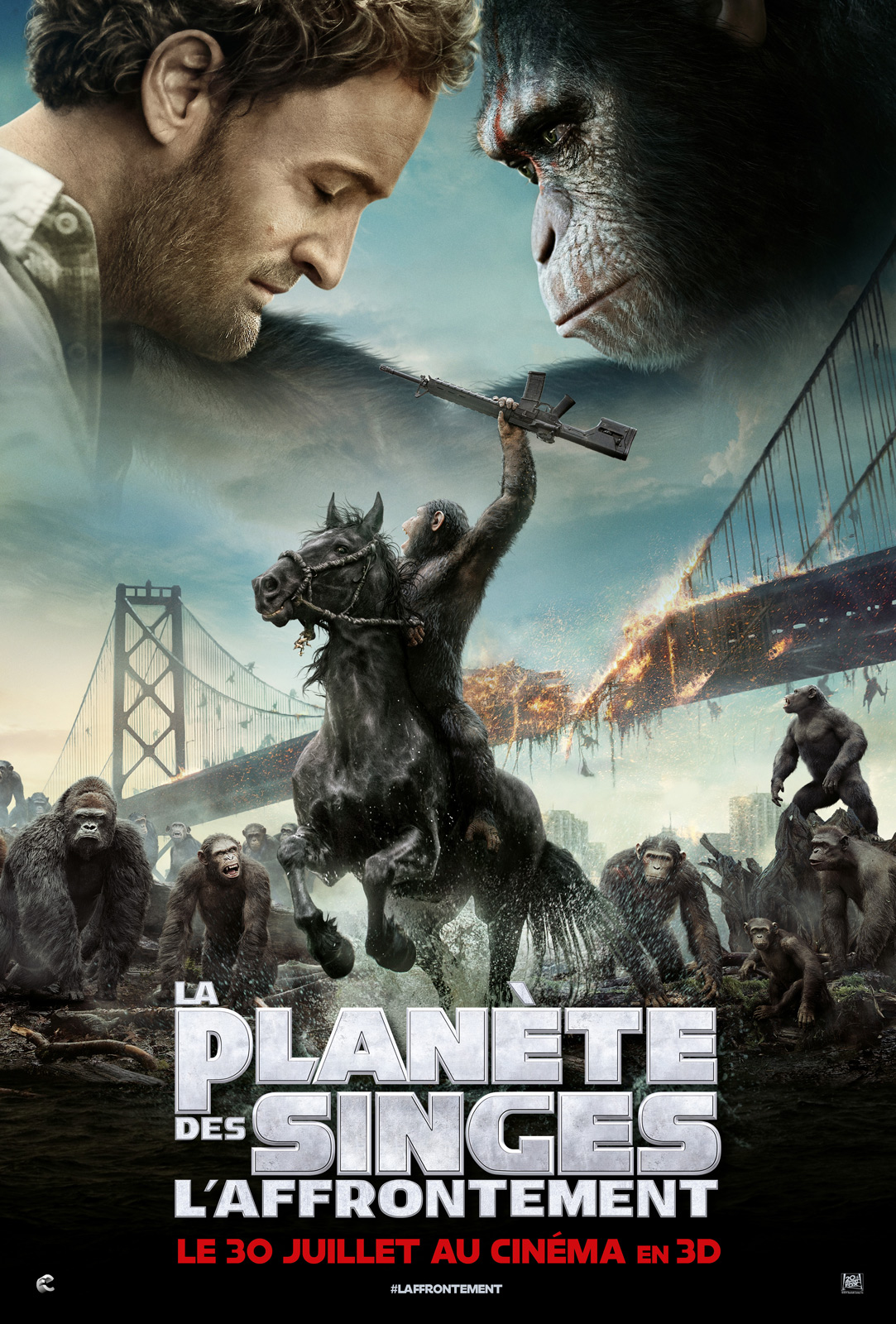Photo Film La Plan�te des singes : l'affrontement