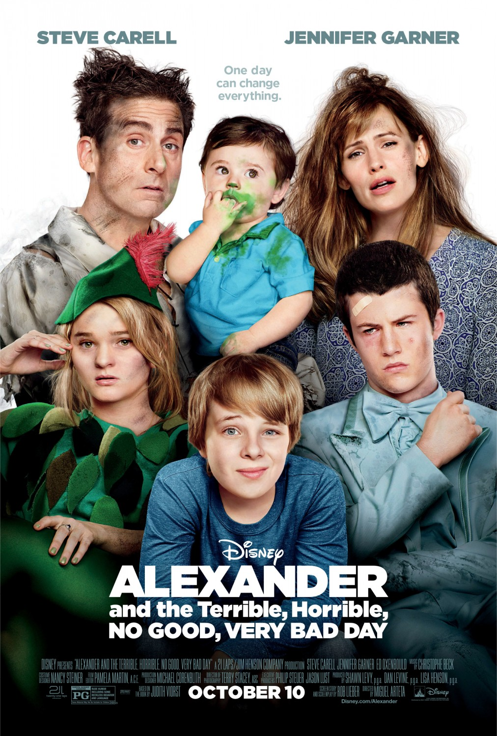Alexander and the Terrible, Horrible, No Good, Very Bad Day VOSTFR BDRiP